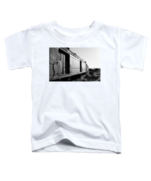 Abandoned Train Cars Toddler T-Shirt