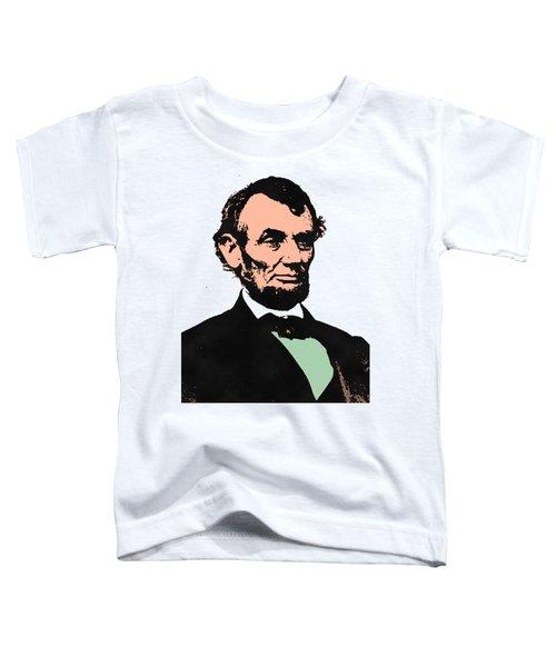 Abe Lincoln 2 Toddler T-Shirt by Otis Porritt