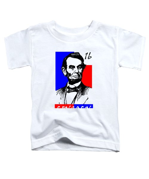 Abraham Lincoln 16 Toddler T-Shirt