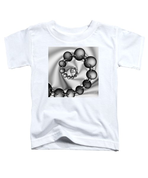 Abstract 537 Bw Toddler T-Shirt