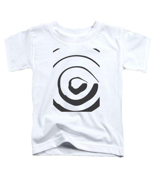 Abstract Art Perspective - Circle Toddler T-Shirt