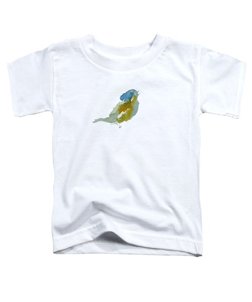 Abstract Bird Singing Toddler T-Shirt by Stephanie Peters