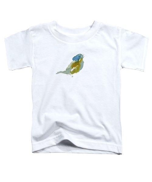Abstract Bird Singing Toddler T-Shirt