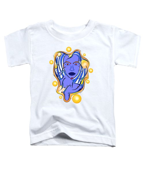 Angeonilium V2 - Blue Beauty Toddler T-Shirt