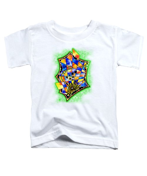 Abstract Digital Art - Stavoris V3 Toddler T-Shirt