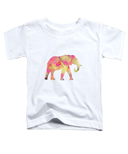 Abstract Elephant  Toddler T-Shirt