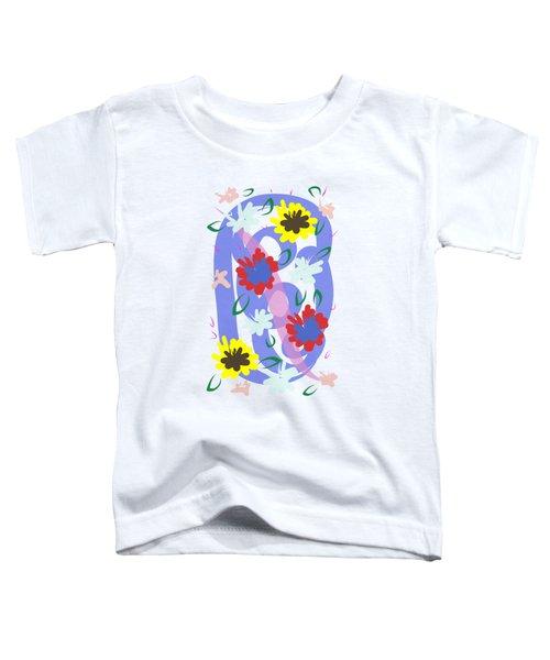 Abstract Garden #1 Toddler T-Shirt