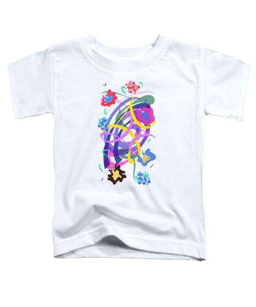 Abstract Garden #2 Toddler T-Shirt