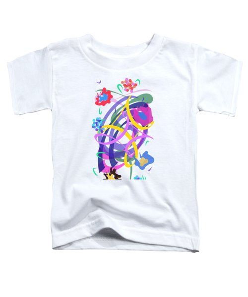 Abstract Garden #2 Toddler T-Shirt
