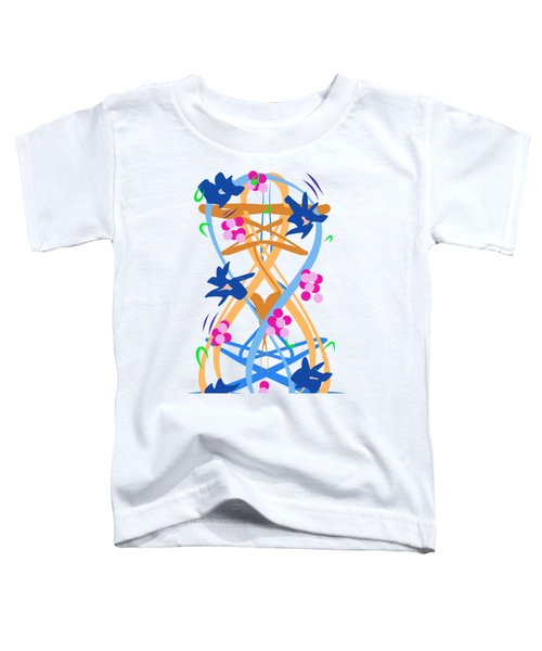 Abstract Garden #3 Toddler T-Shirt