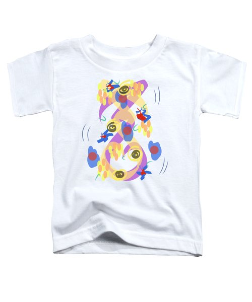 Abstract Garden #5 Toddler T-Shirt