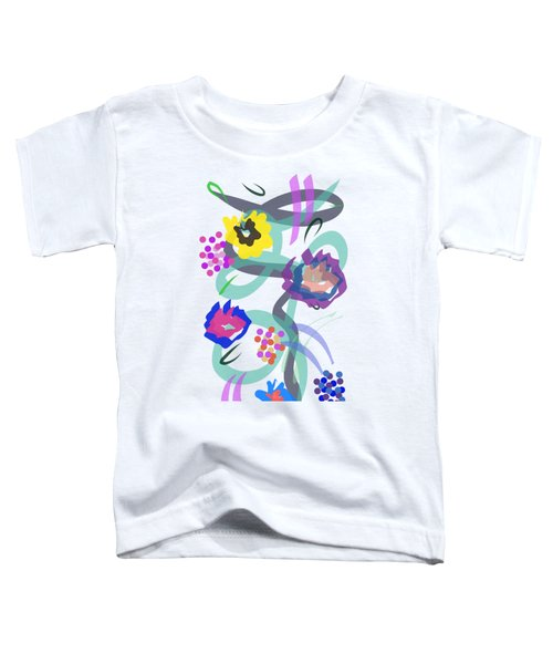 Abstract Garden Nr 4 Toddler T-Shirt