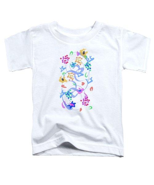 Abstract Garden Nr 6 Toddler T-Shirt