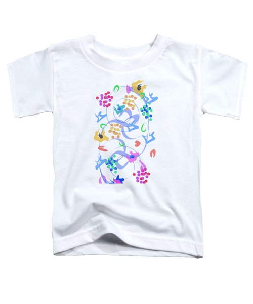 Abstract Garden Nr 6 Toddler T-Shirt