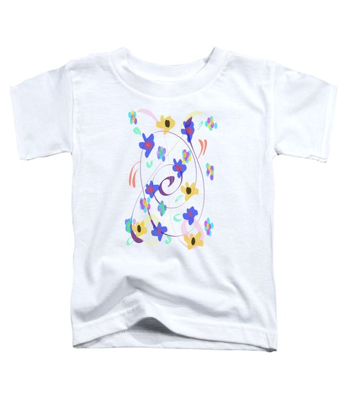 Abstract Garden Nr 7 Naif Style Toddler T-Shirt