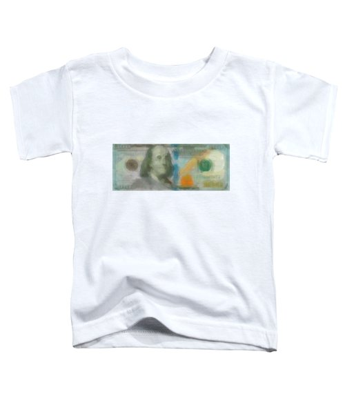 Abstract One Hundred Us Dollar Bill  Toddler T-Shirt