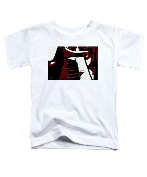 Abstract Piano Toddler T-Shirt