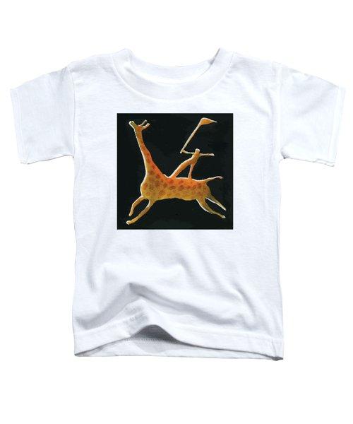 Abstract Giraffe Toddler T-Shirt
