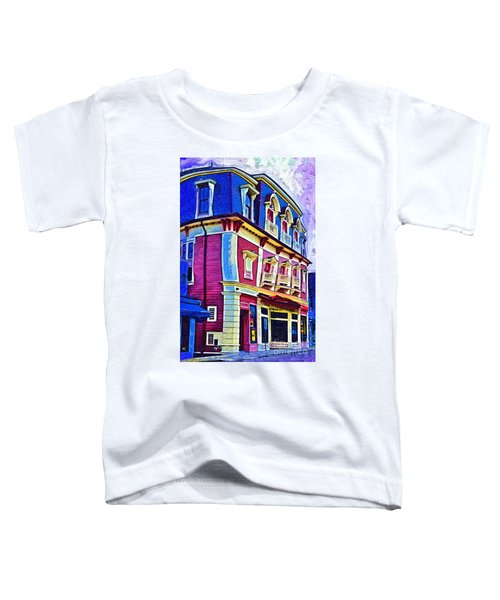 Abstract Urban Toddler T-Shirt