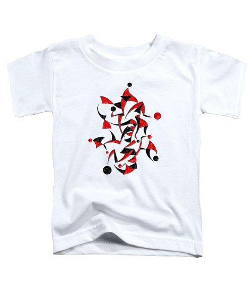 Abugila V6 - Digital Abstract Toddler T-Shirt