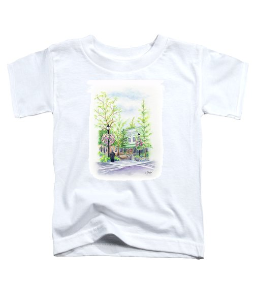 Across The Plaza Toddler T-Shirt