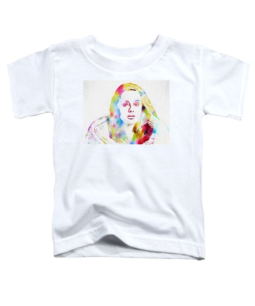 Adele Toddler T-Shirt by Dan Sproul