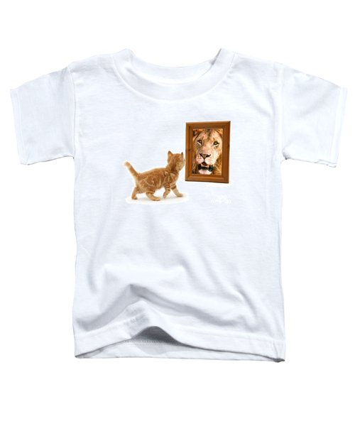 Admiring The Lion Within Toddler T-Shirt