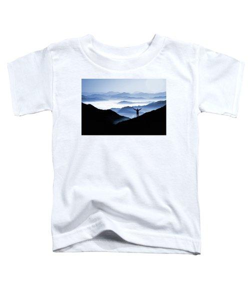 Adoration Of Natural Beauty Toddler T-Shirt