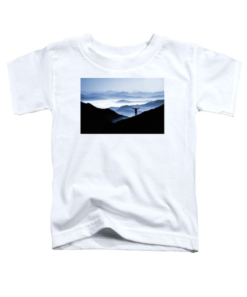 Adoration Of Natural Beauty Toddler T-Shirt