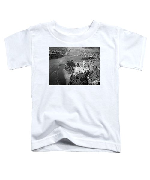 Aerial View Northward Over Olympia Toddler T-Shirt