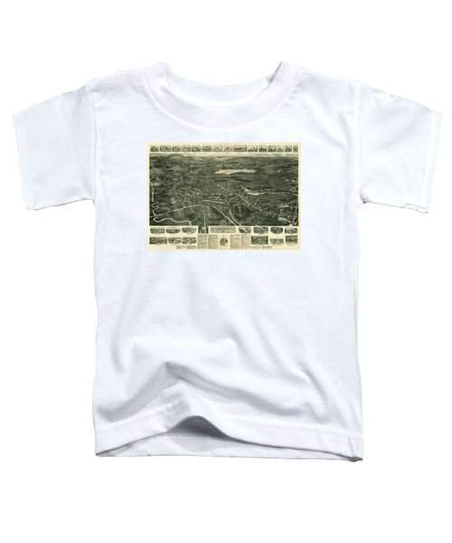Aero View Of Canton, Mass Toddler T-Shirt