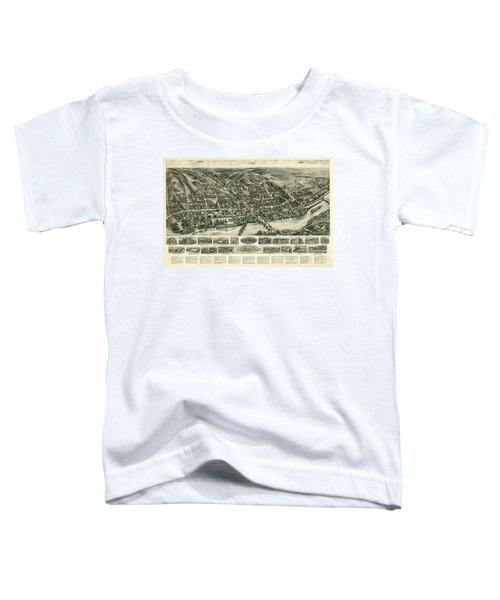 Aero View Of Watertown, Connecticut  Toddler T-Shirt
