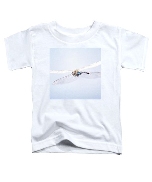 Aeshna Juncea - Common Hawker In Toddler T-Shirt by John Edwards