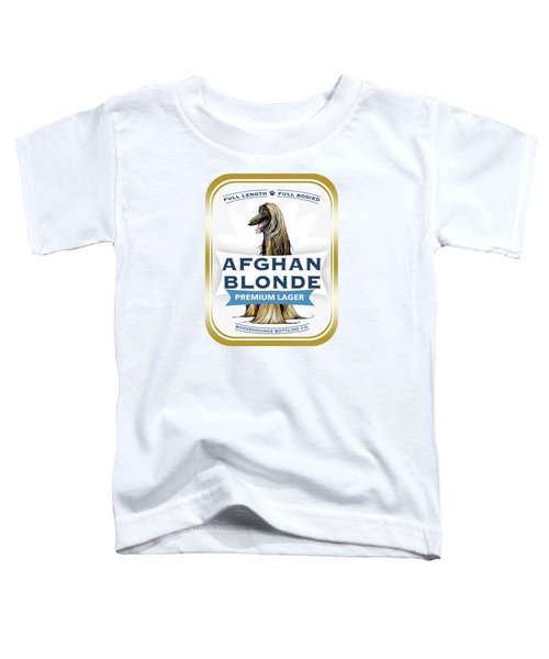 Afghan Blonde Premium Lager Toddler T-Shirt
