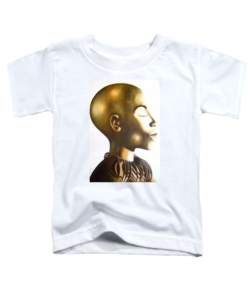 African Elegance Sepia - Original Artwork Toddler T-Shirt