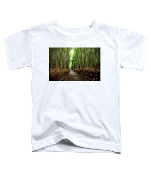 Afternoon In The Bamboo Toddler T-Shirt