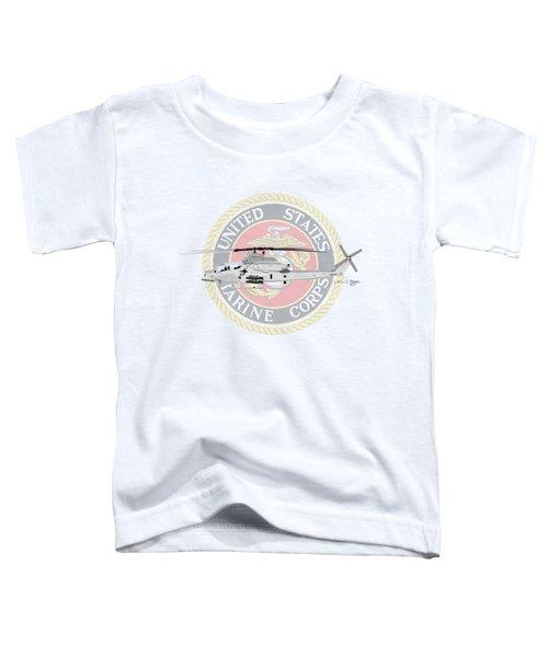 Ah-1z Viper Usmc Toddler T-Shirt