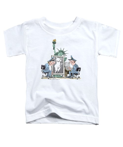 Airport Security And Liberty Toddler T-Shirt