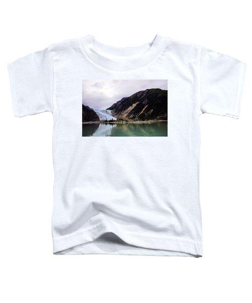 Alaska's Eroding Blue Glacier Toddler T-Shirt