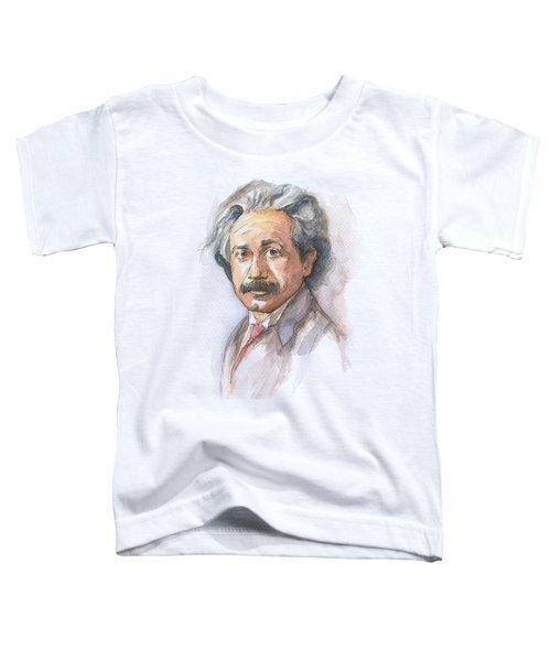 Albert Einstein Toddler T-Shirt