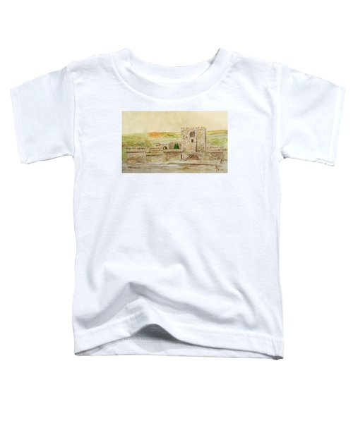 Alcazaba Of Almeria Toddler T-Shirt by Angeles M Pomata