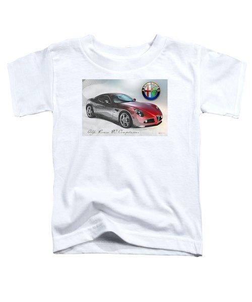 Alfa Romeo 8c Competizione  Toddler T-Shirt