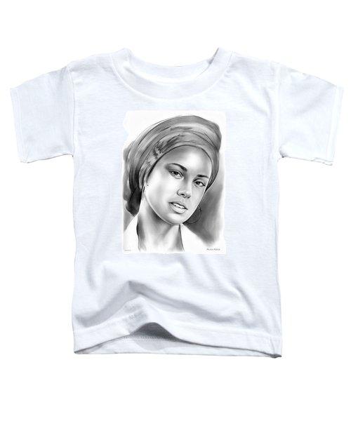 Alicia Keys Toddler T-Shirt