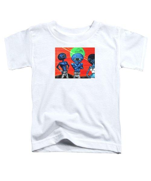 Alien Posse Toddler T-Shirt