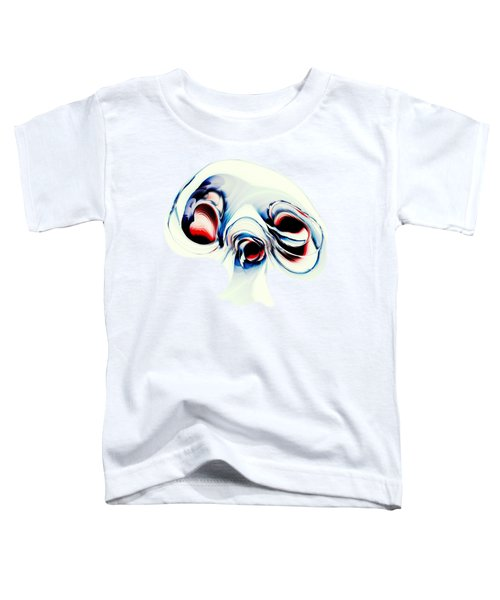 Alien Puppy Toddler T-Shirt by Anastasiya Malakhova