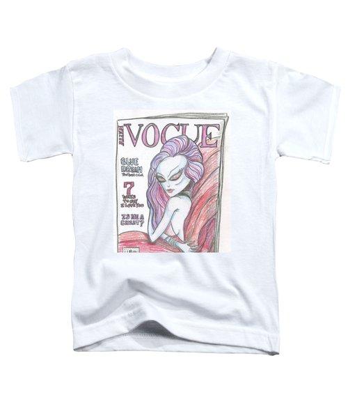 Alien Vogue Toddler T-Shirt