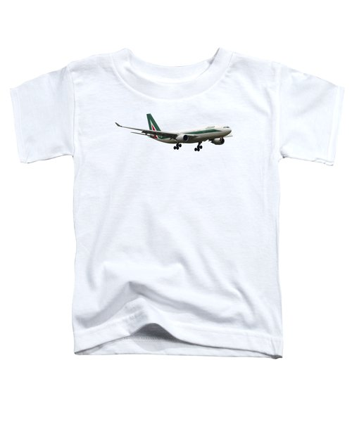 Alitalia, Airbus A330-202. Toddler T-Shirt