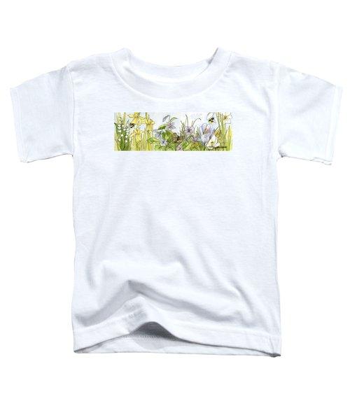 Alive In A Spring Garden Toddler T-Shirt