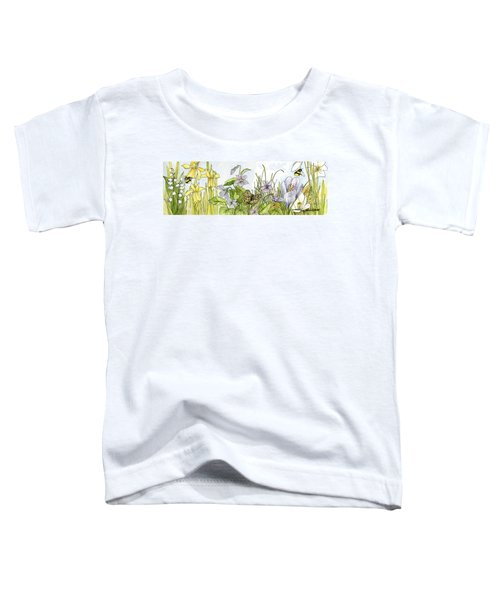Alive In A Spring Garden Toddler T-Shirt