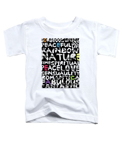 All Abut Words 3 Toddler T-Shirt